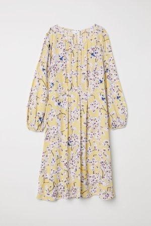 H&M x Anna Glover knielanges Kleid Gr. 36 gelb