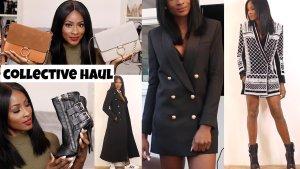 Balmain for H&M Unisex Blazer black-gold-colored