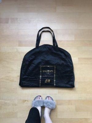 Balmain for H&M Borsa porta abiti nero-oro