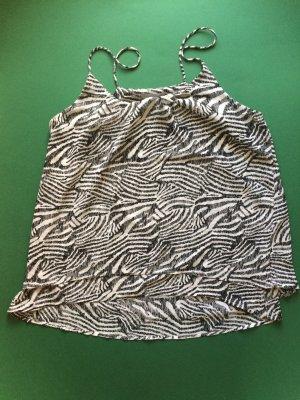 H&M Zebra Pattern Tank Top