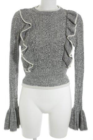 H&M Zopfpullover mehrfarbig Casual-Look