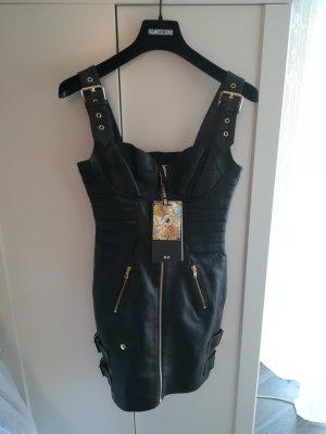H&Moschino H&M Moschino Leder Kleid GR 36 S