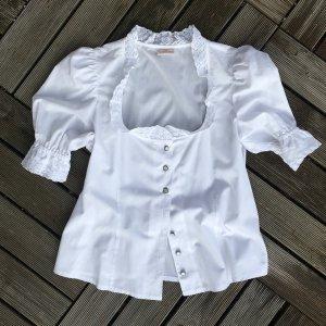 H.Moser Blusa tradizionale bianco