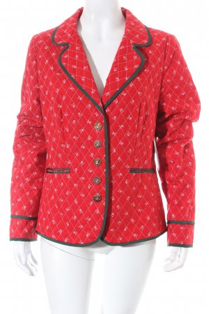 H.Moser Trachtenjacke florales Muster Country-Look