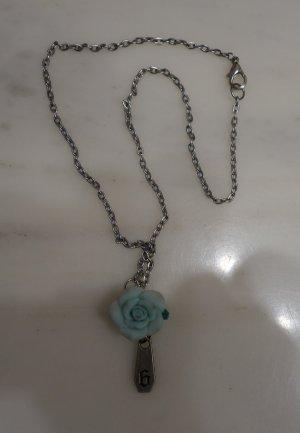 h.Naoto Sixh Japan Halskette blaue Rose Gothic Lolita Punk Visual Kei Grunge