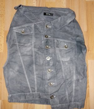 Denim Vest pale blue-slate-gray
