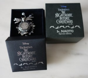 h.Naoto x Disney Japan Nightmare before Christmas Uhr & Halskette Gothic Lolita