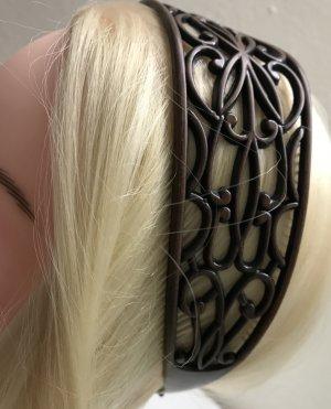 Haarband bruin-donkerbruin