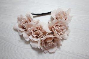 Bandeau cheveux rosé-vieux rose
