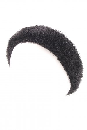 Ribbon black fluffy