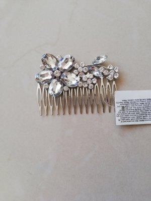 Bijou Brigitte Hair Accessory silver-colored