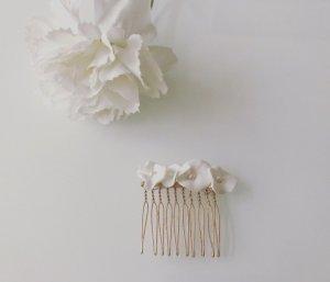 Épingle à cheveux blanc