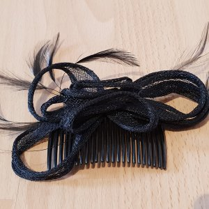 Accessoire pour cheveux noir