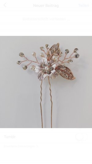 Hair Pin gold-colored-rose-gold-coloured