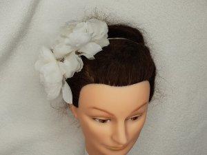 Hair Circlet white-silver-colored