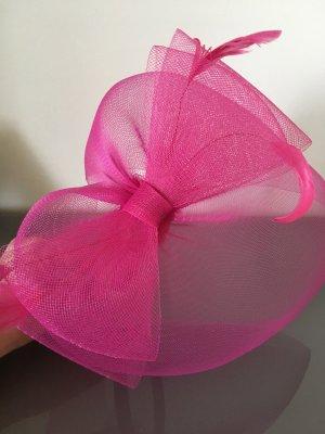 Haarreif Fascinator Pink