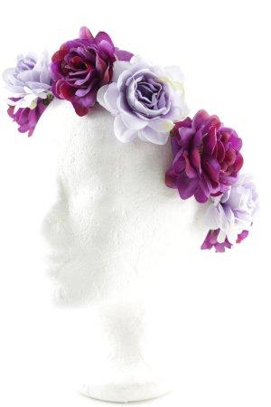 Cerchietto per capelli motivo floreale stile da moda di strada