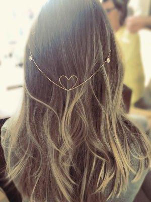 Cerchietto per capelli oro