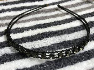 Haarreifen schwarz