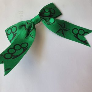 Hair Clip black-forest green