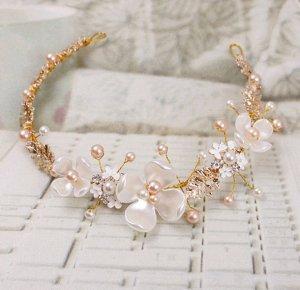 Accessorio per capelli albicocca-rosa antico