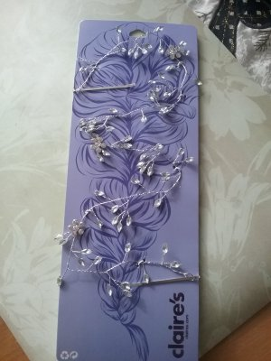 Claires Hair Accessory silver-colored