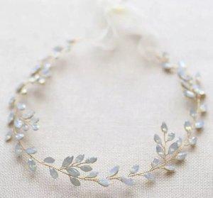 Haarband babyblauw