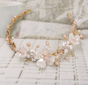 Hair Accessory apricot-dusky pink
