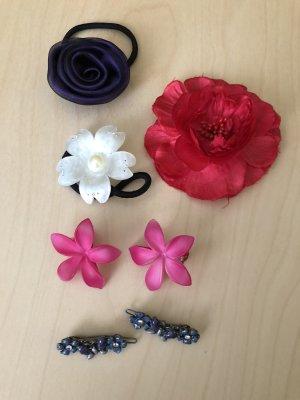 Haarschmuck Haarklammern Haargummi Blumen