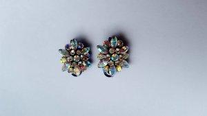 Haarschmuck mit funkelnden multicolor Swarovski Chrystals