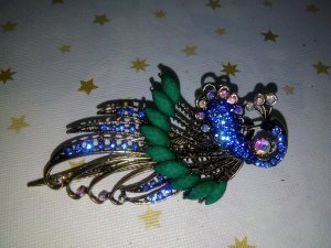 Hair Accessory blue-forest green
