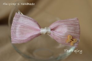 Hair Clip light pink-natural white