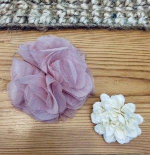 H&M Hair Pin white-pink