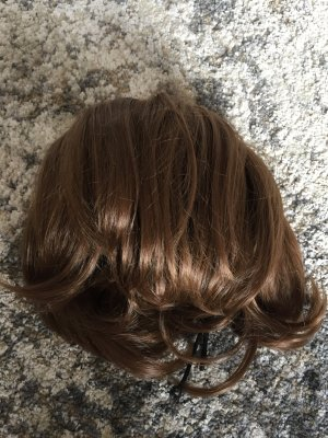 Haarteil, kunsthaar, dutt oder Pferdeschwanz