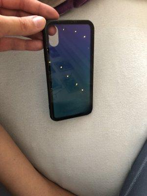 Carcasa para teléfono móvil lila-azul