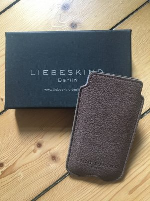 Liebeskind Mobile Phone Case grey brown