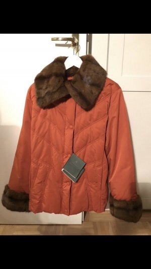 Kleidermanufaktur Habsburg Pelt Jacket neon orange