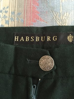 Kleidermanufaktur Habsburg Wollen rok donkergroen