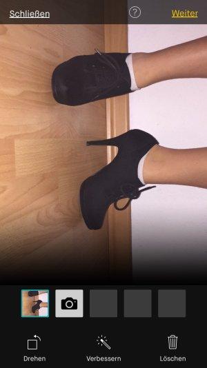 Hacken Schuh