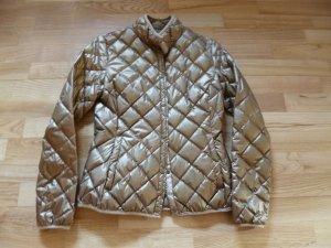 Between-Seasons Jacket gold-colored mixture fibre