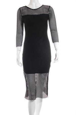Haddudyi Kleid schwarz