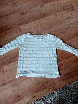 Atmosphere Crochet Sweater white