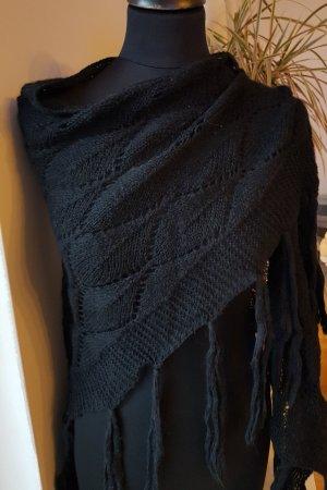 Kontatto Crochet Scarf black