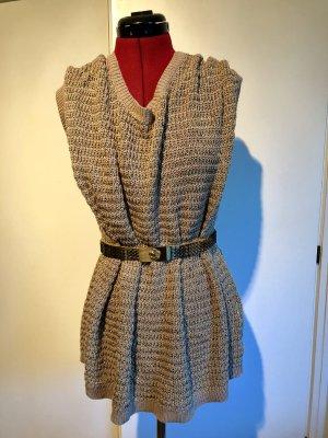 VIVENTY Bernd Berger Crochet Cardigan gold-colored-beige mixture fibre