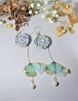 Häkel Schmetterling Ohrringe