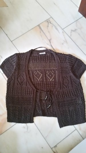 C&A Cardigan all'uncinetto marrone