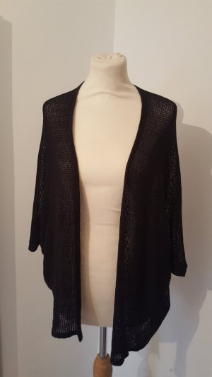 Janina Cardigan all'uncinetto nero