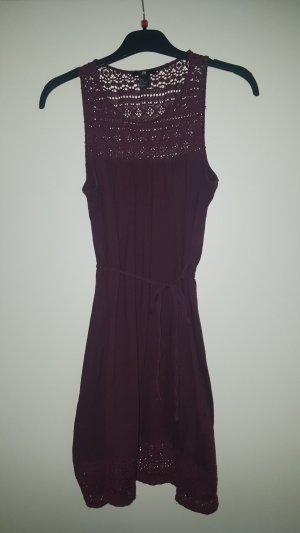 H&M Kanten jurk paars