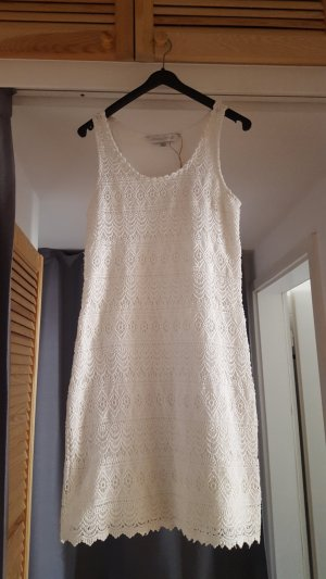 Häkelkleid weiß * Sommerkleid Baumwolle