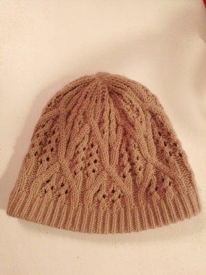 H&M Crochet Cap pink